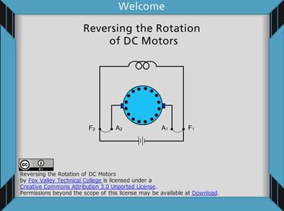 Reversing the Rotation of DC Motors