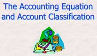 The Accounting Equation and Account Classification