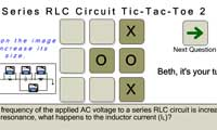 Series RLC Circuit Tic-Tac-Toe 2