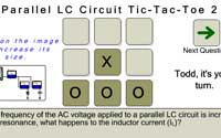 Parallel LC Circuit Tic-Tac-Toe 2