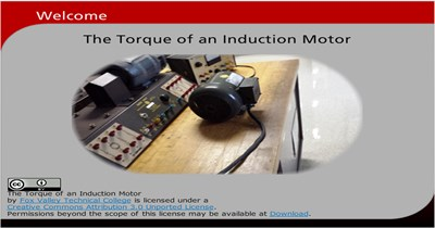 The Torque of an Induction Motor