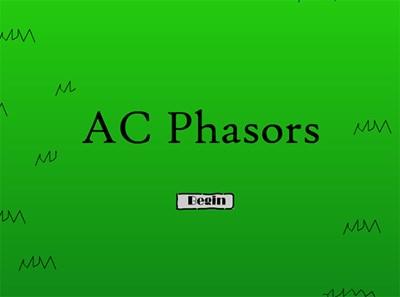 AC Phasors