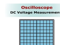 Oscilloscope: DC Voltage Measurements