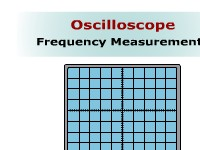 Oscilloscope Frequency Measurements