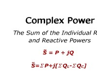 Complex Power: The Sum of the Individual Real and Reactive Powers