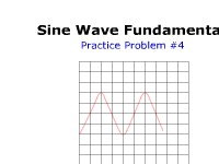 Sine Wave Fundamentals: Practice Problem #4