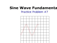 Sine Wave Fundamentals: Practice Problem #7