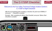 The C-172 Checklist
