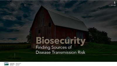 Biosecurity: Finding Sources of Disease Transmission Risk