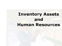 Inventory Assets and Human Resources