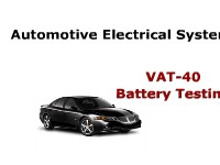 Automotive Electrical Systems VAT-40 Battery Testing