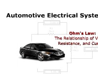 Automotive Electrical Systems: Ohm's Law