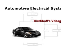 Automotive Electrical Systems: Kirchhoff's Voltage Law