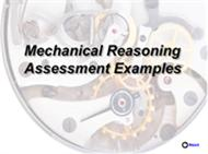 Mechanical Reasoning Assessment Examples