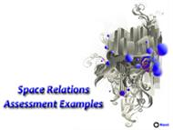 Space Relations Assessment Examples