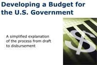 Developing a Budget for the U.S. Government