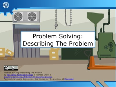 Problem Solving - Describing the Problem