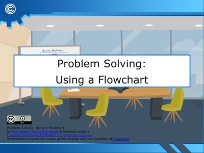 Problem Solving: Using a Flow Chart