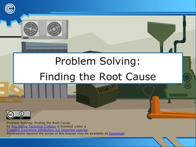 Problem Solving - Finding the Root Cause
