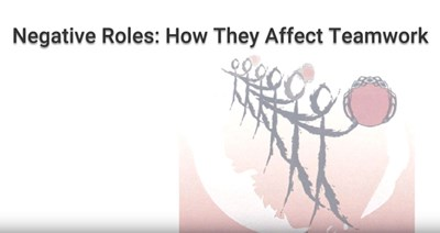 Negative Roles: How They Affect Teamwork (Video)