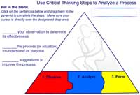 Critical Thinking: Analyzing a Process