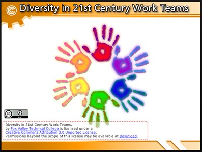 Diversity in 21st Century Work Teams