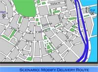Modify Delivery Route