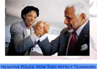 Negative Roles: How They Affect Teamwork