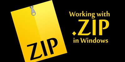 Working with Zip Files