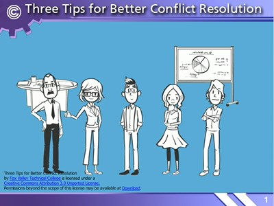 Three Tips for Better Conflict Resolution