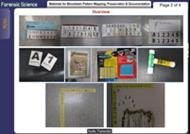 Materials for Bloodstain Pattern Mapping, Preservation & Documentation