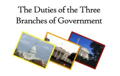 The Duties of the Three Branches of Government (Screencast)