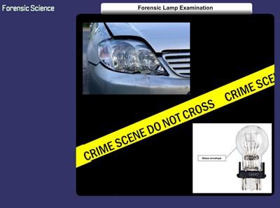 Forensic Lamp Examination (Screencast)