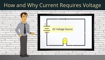 How Current Requires Voltage