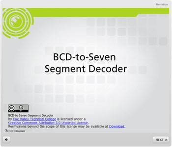 BCD-to-Seven  Segment Decoder