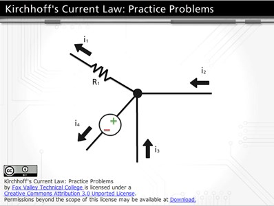 Kirchhoff's Current Law: Practice Problems