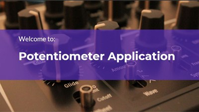 Potentiometer Application