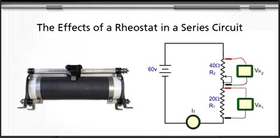 Effects of a Rheostat in a Series Circuit