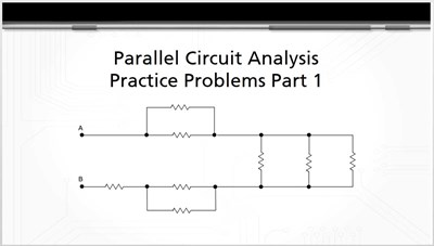 Parallel Circuit Analysis Practice Problems Part 1