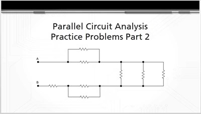 Parallel Circuit Analysis Practice Problems Part 2