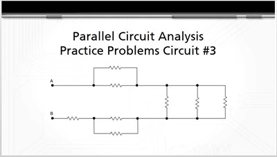 Parallel Circuit Analysis Practice Problems: Circuit #3
