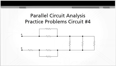 Parallel Circuit Analysis Practice Problems: Circuit #4
