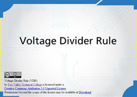 Voltage Divider Rule (VDR)