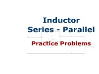 Inductor Series - Parallel: Practice Problems
