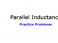 Parallel Inductance: Practice Problems