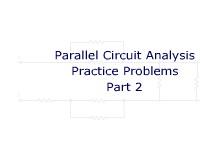 Parallel Circuit Analysis Practice Problems Part 2