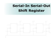 Serial-In Serial-Out Shift Register