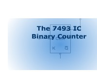 The 7493 IC Binary Counter