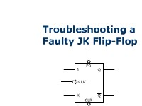 Troubleshooting a Faulty JK Flip-Flop