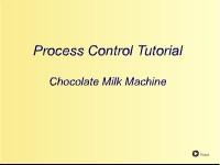 Process Control Tutorial: The Chocolate Milk Machine